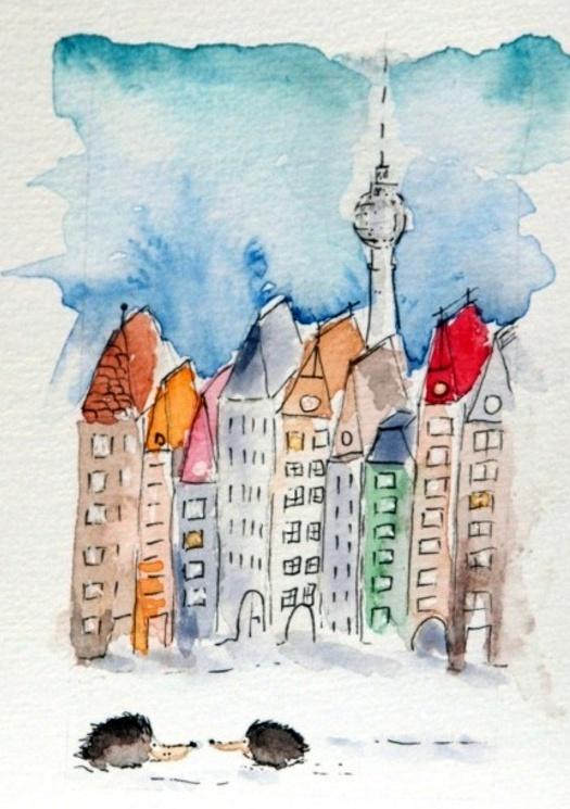 aquarell-original-unikat-kunst-postkarte-berlin-fraufranke0_1