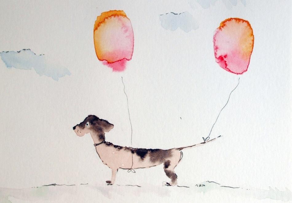 aquarell-original-unikat-kunst-postkarte-dackel-fraufranke0_7